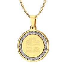 "24"" Men's Stainless Steel Hip Hop Gold Jesus Dog Tag Chain Pendant Necklace Set"