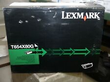 Genuine Lexmark T654X80G Extra High Yield Black toner cartridge SEALED