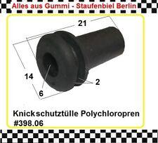 4x Gummitülle Kabeldurchführung Kabelschutz Gummiformteil Durchführung 384