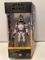 Star Wars Black Series Clone Wars KAMINO CLONE TROOPER Figure MIB