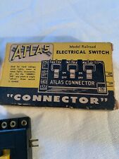 VINTAGE ATLAS MODEL RAILROAD ELECTRICAL SWITCH CONNECTOR #205 IN BOX
