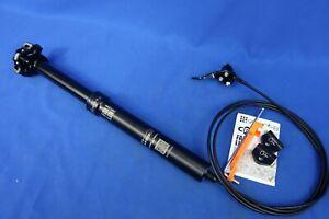 9Point8 Fall Line Dropper Bike Seatpost -  30.9mm x 375mm, 125mm Travel