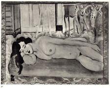 MATISSE 1935 LITHOGRAPH w/COA. unique Henri Matisse $ SENSUAL and SEXY Rare Art