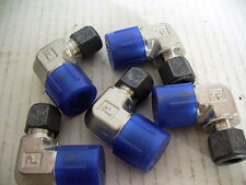 """5 Pc NEW,PARKER  8-6 CBZ-SS  316 ,CPI Male Elbow Fitting.3/8"""" x 1/2"""" Made In USA"""