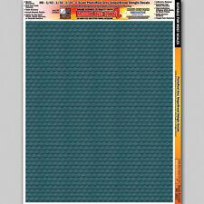 Grey Ginger Break Shingles Diorama 1/24 1/32 1/43 1/48 1/64 1/87 Layout Decals
