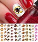 Washington Redskins Football Nail Art Decals - Salon Quality