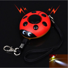 Beetle Personal  Home Security Alarm With LED Light Self Defense Keychain