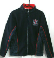 MELBOURNE DEMONS FOOTBALL CLUB AFL SIZE 12 NAVY BLUE ZIP UP JACKET FREE POSTAGE