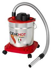 "Bidone Aspiratore aspira cenere calda funz. soffiante RIBITECH ""CeneHot"" 950 W"