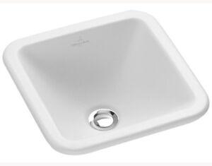 Villeroy & Boch Loop & Friends built in washbasin square 6156.10.R1 ceramic +