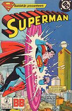 SUPERMAN 04 - ZIJN ER NOG MENSEN MET PROBLEMEN (BALDAKIJN BB 1984)