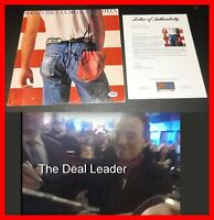 🔥 BRUCE SPRINGSTEEN AUTOGRAPH SIGNED BORN IN THE USA LP ALBUM RECORD PSA JSA 🔥