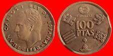ERROR 100 PESETAS JUAN CARLOS I 1980 *80 SEPMENTADA MBC-ESPAÑA-3812