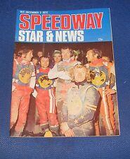 Speedway Star & News Magazine W/E 2nd December 1972
