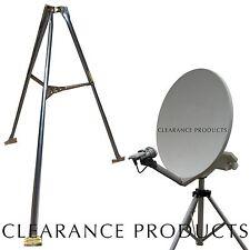 "3 Feet 2"" Inch OD Satellite Dish Network Tripod Stand Mount 500 1000.2 TURBO HD"