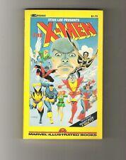 X-MEN paperback B&W Giant-Size X-Men #1 (1982) Marvel Books reprint pb 1st FINE