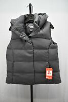 The North Face Novelty Nuptse Goose Down Hooded Vest, Women's Size M, Black NEW