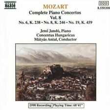 JANDO:CO - MOZART:CPTE PIANO CTOS VOL 8 [CD]