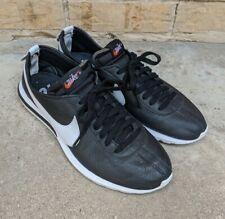 NIKE Roshe Cortez NM SP 806952-010 BLACK-WHITE Men's 10.5 Sneakers Classic EUC