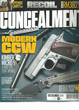 RECOIL CONCEALMENT MAGAZINE, 2017   ISSUE, 4    MODERN  CCW * IFAK BUYER'S GUIDE