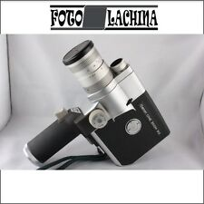 CANON CINE ZOOM 512 cinepresa  8 mm  meccanica a molla  , funzionante .No Bolex
