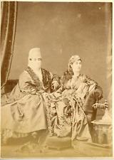Pascal Sebah, Dames turques, ca.1875, Vintage albumen print Vintage albumen prin