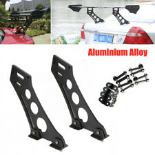 "CNC 10"" Car Tail Spoiler Stand CNC Rear Wing Trunk Racing Legs Mount Brackets"