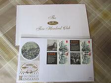 Pride of ENGLAND Wembley 1923 New Era BENHAM Gold 500 Club FDC Cover