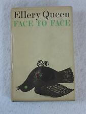 Ellery Queen FACE TO FACE The New American Library Book Club Edition