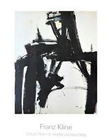 Franz Kline Untitled Poster Kunstdruck Bild 125x98cm