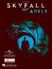 "ADELE ""SKYFALL"" SHEET MUSIC-EASY PIANO-JAMES BOND 007-BRAND NEW ON SALE-MINT!!"