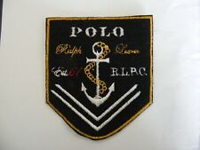 Polo Ralph Lauren logo machine embroidered iron/sew on applique/patch/motif