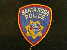 Santa Rosa Police Patch