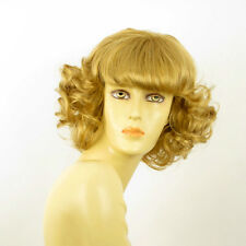 Peluca mujer mediano rizado rubio dorado VANDA 24B PERUK
