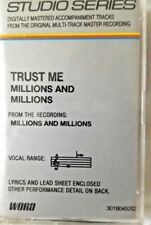 TRUST ME - From the recording MILLIONS AND MILLIONS - Cassette - Christian Accom