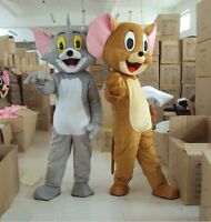 Famous Tom and Jerry Mascot Costume Party Fancy Dress Pageant Outfit Adult 2019