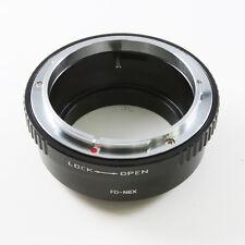 Canon FD Lens To Sony NEX E Mount Adapter A7 A7R NEX-7 5T 6 A5000 A6000 VG900