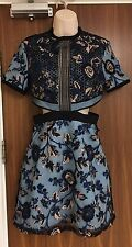 Self-Portrait Florence Embroidered Tulle Dress Size UK 12 BNWT