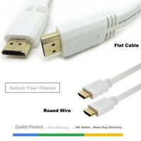 0.5M/1M/1.5M/2M-8M PREMIUM UltraHD HDMI Cable v1.4 High Speed 1080p 3D Lead