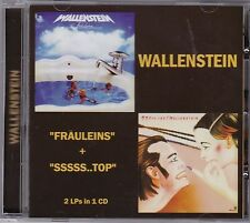 Wallenstein - Frauleins + Sssss..Top JEWEL CASE FIRST TIME ON CD