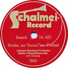 Schalmei Orchester - Brüder zur Sonne zur Freiheit / Rote Fahne - 1927