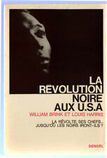 BRINK & HARRIS , LA RÉVOLUTION NOIRE AUX USA