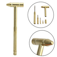 New 6 in1 Micro Mini Multifunction Copper Hammer 3 kinds Screwdrivers Hand Tools