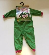 Halloween Costume Rubies Flower Pink Pansy Head Piece Jumpsuits Infant 12-18M