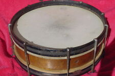 "ANTIQUE HARMONY DRUM SNARE DRUM  15 1/2"" SNARE RARE DATED 1913"
