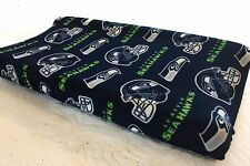 Seattle Seahawks Changing Pad Cover for Nursery