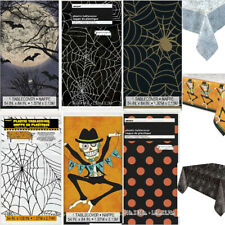 Halloween SPIDERWEB BAT DOTS TABLECOVER Tablecloth Table Cloth Party Supplies