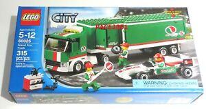 LEGO CITY 60025 Octan Grand Prix Truck 315 Pieces Retired 2013 Set