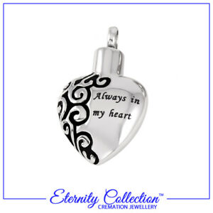 Memorial Jewellery with accessories - Various designs of Necklaces & Earrings