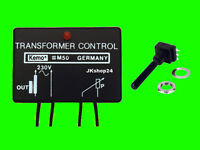 Netztrafo-Dimmer Transformator 230 V/AC Netz-Trafo-Regler 400W + inkl. 500K-Poti